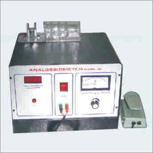 Analgesiometer, Radiant Heat Type