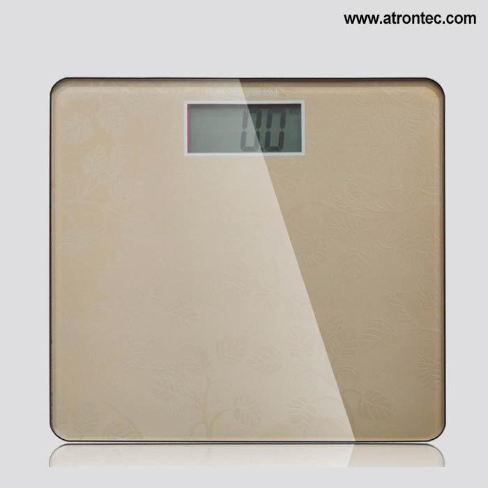 Glass Platform Digital Bathroom Scale
