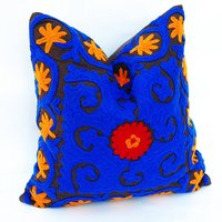 Hand Embroidered Suzani Cushion Cover
