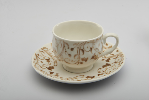 Ceramic Cup Saucer Printing Services