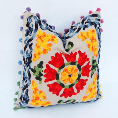 Hand Work Suzani Cushion Cover Set