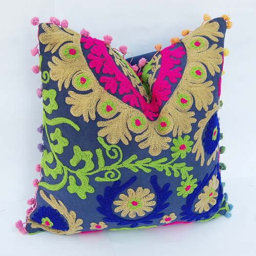 Suzani Work Cushion Cover