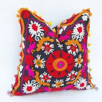 Embroidered Suzani Cushion Set