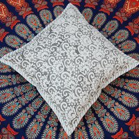 Rajasthani Hand Block Printed Cushion Cover