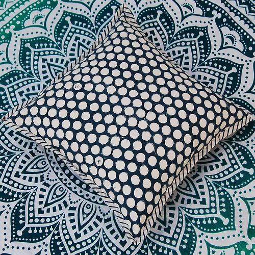 Block Printed Cushion Cover Set