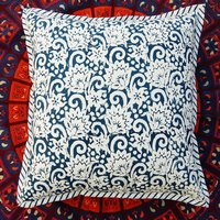 Hand Block Print Cotton Cushion Cover