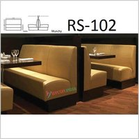 Trendy Restaurant sofa