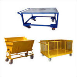 Industrial Basket Trolley
