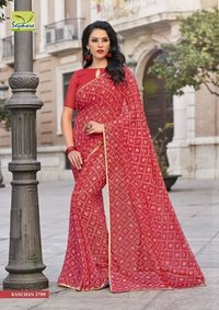 Festival Wear Georgette Sarees