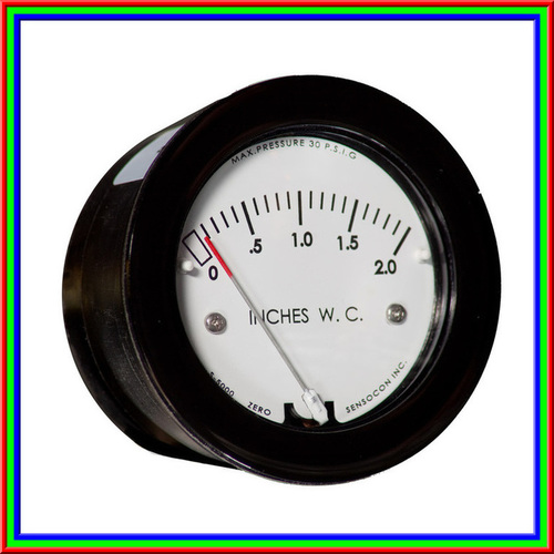 Sensocon USA Miniature Low Cost Differential Pressure Gauge Series S-5001