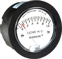 Sensocon USA Miniature Low Cost Differential Pressure Gauge Series S-5002