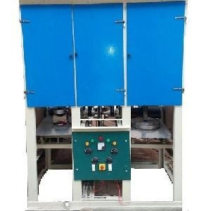 Double Die Dona and Pattal Making Machine