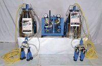 Double Bucket Milking Machine