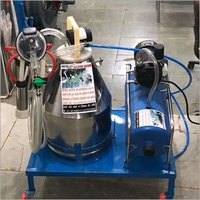 single bucket Nano Milking Machine with silicone liners