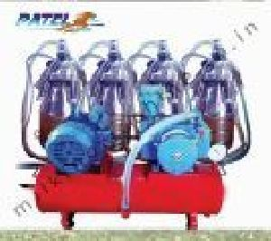 Four Bucket Fixed Type Milking Machine