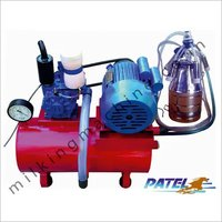 Single Bucket Fixed Type Milking Machine with rubber liners