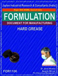 Formula for Hard Grease