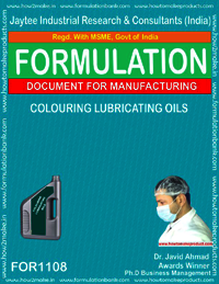 Colouring Lubricating Oils