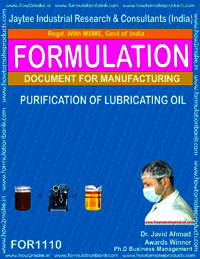 Purification of Lubricating Oil