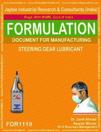 Steering Gear Lubricant