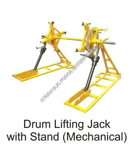 Drum Lifting Jack With Stand ( Mechanical)