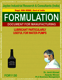 Lubricant Particularly Used for Water Pumps