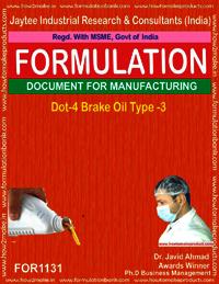 Dot-4 Brake Oil type 3