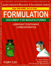 Lubricant Containing Carbohydrates