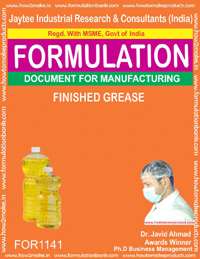 Greases Manufacturing Formulas
