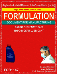 Lead Naphthenate Base Hypoid Gear Lubricant