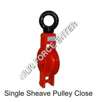 Single Sheave Pulley Close