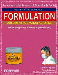 White Stopper for WoodWork Formulation