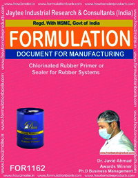 Chlorinated Rubber Primer or Sealer for Rubber Systems
