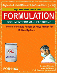 White Chlorinated Rubber or Alkyd Primer 4 Rubber Systms