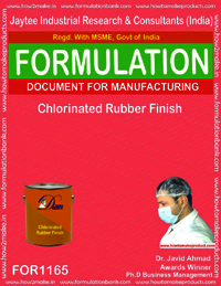 Chlorinated rubber finish