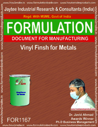 Vinyl Finish for Metals