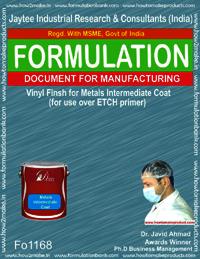 Vinyl finish for Metals Intermediate Coat