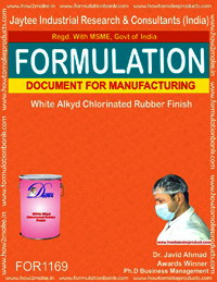White Alkyd Chlorinated Rubber finish
