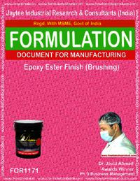 Epoxy Ester Finish Formulation (brushing)