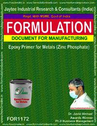 Epoxy Primer For Metals (Zinc Phosphate)