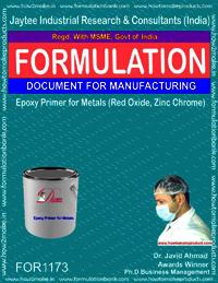 Epoxy Primer for metals (Red Oxide, Zinc Chrome)