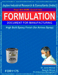 High Built Epoxy Finish (for airless spray)