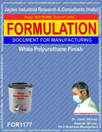 White Polyurethane Finish Formulation