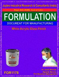 White Acrylic Gloss Finish Formulation