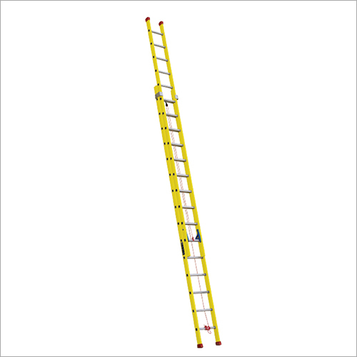 Fiberglass (FRP) Double Section Straight Ladder