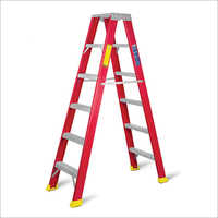 Fiberglass (FRP) Double Sided Ladder
