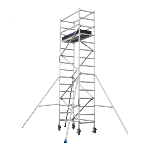 Aluminium Mobile Narrow Scaffolding (Single Width)