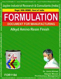 Alkyd Amino Resin Finish Formulation