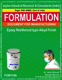 Epoxy Reinforced type Alkyd Finish Formulation