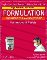 Flameboyant Finish Formulation